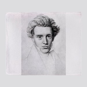soren kierkegaard Throw Blanket