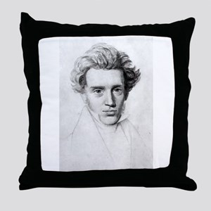 soren kierkegaard Throw Pillow
