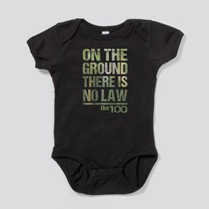 On The Ground No Law The 100 Baby Bodysuit
