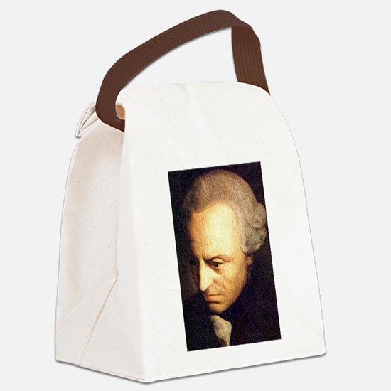 kant Canvas Lunch Bag