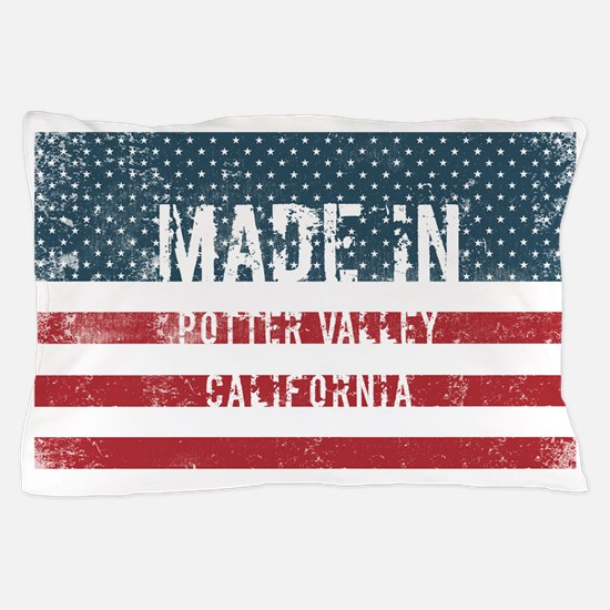 Made in Potter Valley, California Pillow Case
