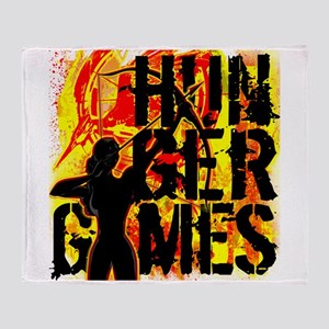 Hunger Games Inferno Throw Blanket