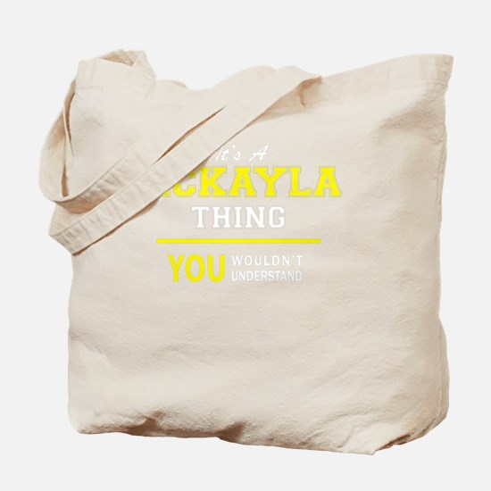 Cute Mckayla Tote Bag