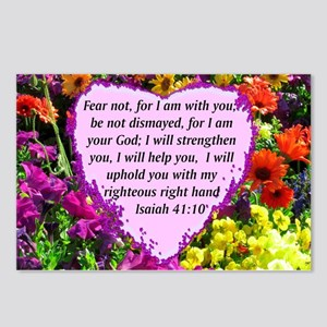 ISAIAH 41:10 Postcards (Package of 8)