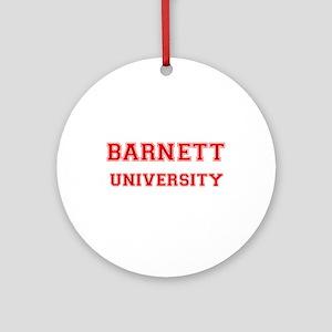 BARNETT UNIVERSITY Ornament (Round)