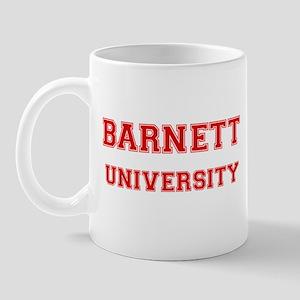 BARNETT UNIVERSITY Mug