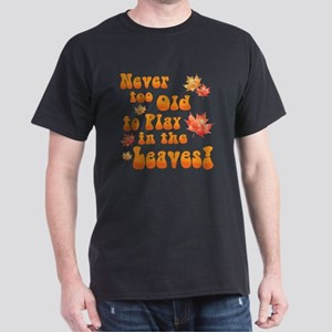 Playing in Leaves T-Shirt