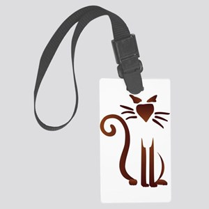 Silhouette Sam Large Luggage Tag