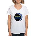 MouseStation Women's V-Neck T-Shirt