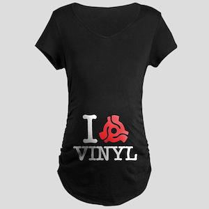 I 45 Adapter Vinyl Maternity T-Shirt