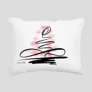 I am OM Rectangular Canvas Pillow
