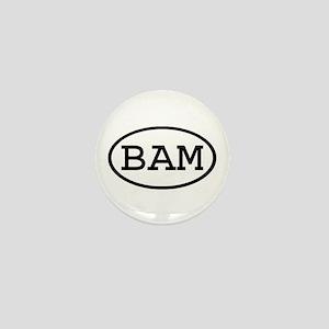 BAM Oval Mini Button