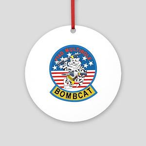 tomcat_bombcat Ornament (Round)