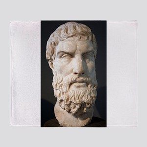 epicurus Throw Blanket