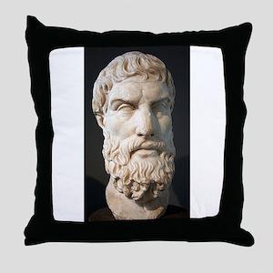 epicurus Throw Pillow