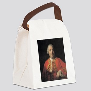 david hume Canvas Lunch Bag