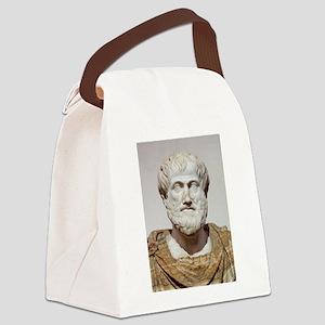 aristotle Canvas Lunch Bag