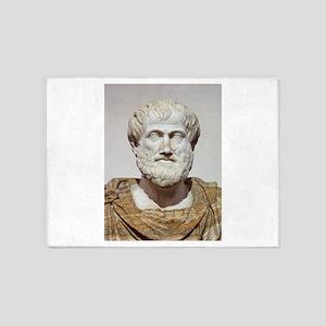 aristotle 5'x7'Area Rug