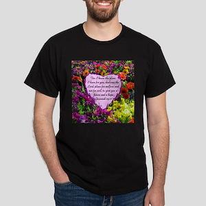 JEREMIAH 29:11 Dark T-Shirt