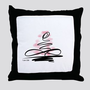 I am OM Throw Pillow