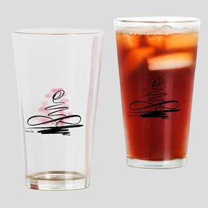 I am OM Drinking Glass