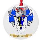 Gorstice Round Ornament