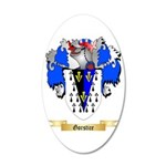Gorstice 20x12 Oval Wall Decal
