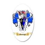 Gorstage 20x12 Oval Wall Decal