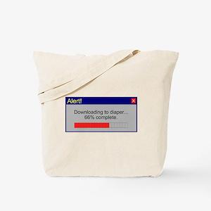 Downloading... Tote Bag
