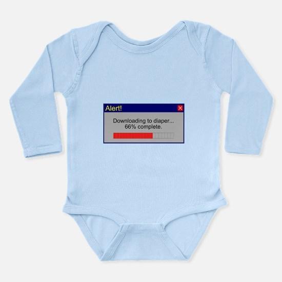 Downloading... Long Sleeve Infant Bodysuit