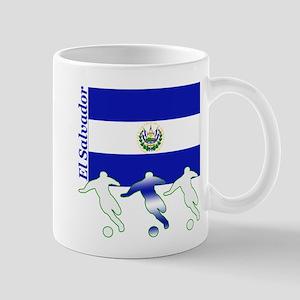 El Salvador Soccer Mug