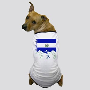 El Salvador Soccer Dog T-Shirt