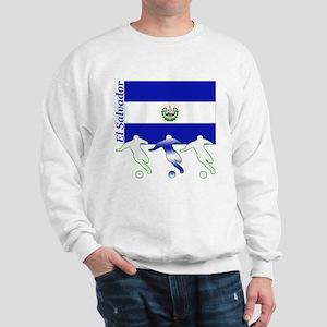 El Salvador Soccer Sweatshirt