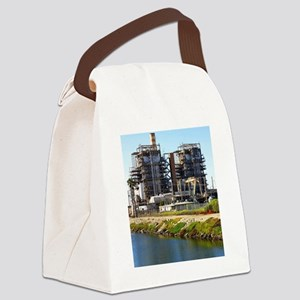 Power Plant Canvas Lunch Bag