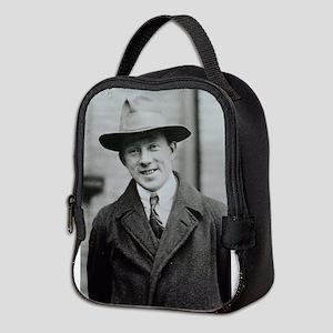 werner heisenberg Neoprene Lunch Bag