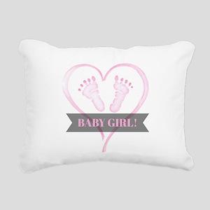 Baby girl Rectangular Canvas Pillow