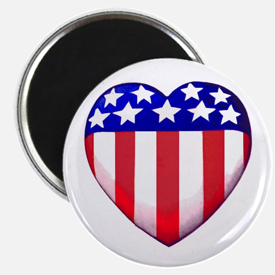 "MY AMERICAN HEART 2.25"" Magnet (10 pack)"