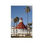 Hotel del Coronado Rectangle Sticker
