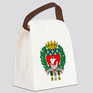 Coat of Arms of Paris Canvas Lunch Bag