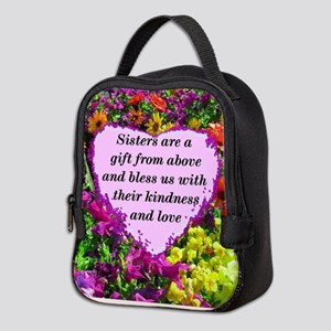 SISTER BLESSING Neoprene Lunch Bag