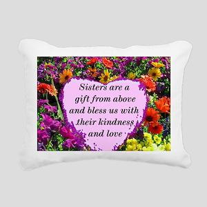 SISTER BLESSING Rectangular Canvas Pillow
