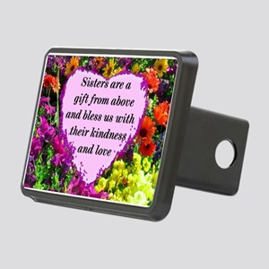 SISTER BLESSING Rectangular Hitch Cover