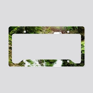 Woodland Stream License Plate Holder
