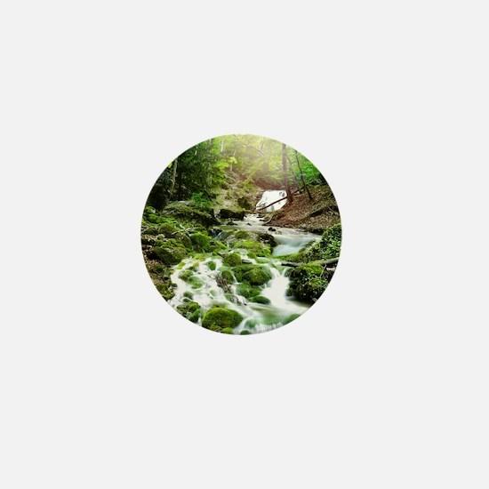 Woodland Stream Mini Button