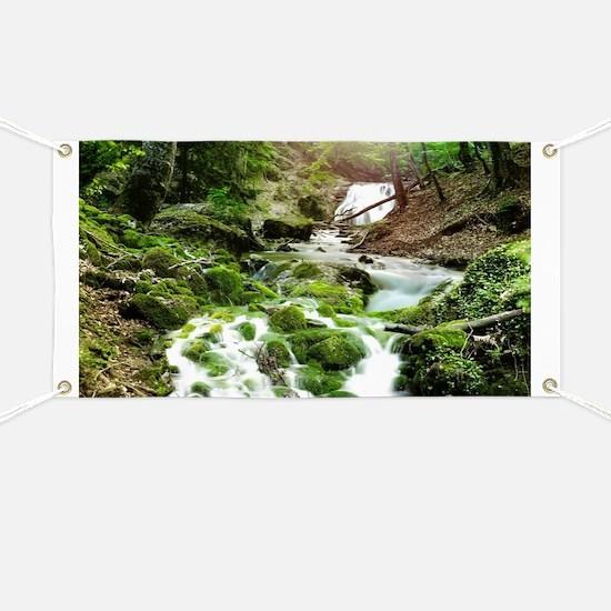 Woodland Stream Banner