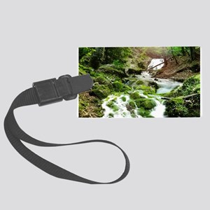 Woodland Stream Luggage Tag