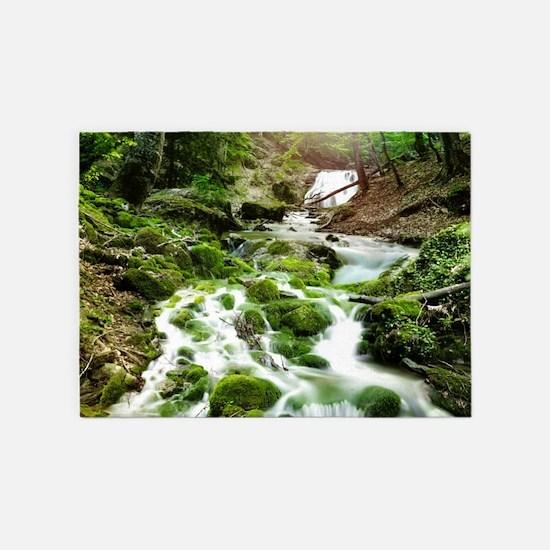Woodland Stream 5'x7'Area Rug
