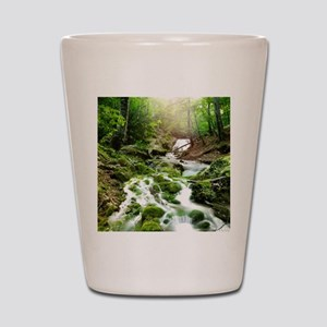 Woodland Stream Shot Glass