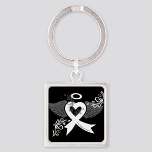I've Held an Angel (Lung Cancer) Keychains