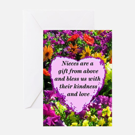 NIECE BLESSING Greeting Card